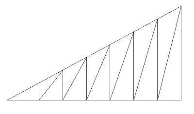 North light roof truss (spans upto 20M to 30M)