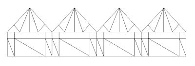 Large span trusses