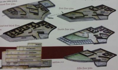SPA plan view