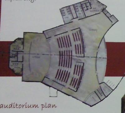 Convention Block Plan (Auditorium)