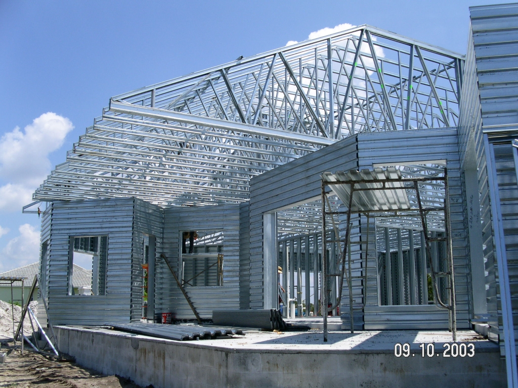 Metal roof used metal roof trusses for House roof construction