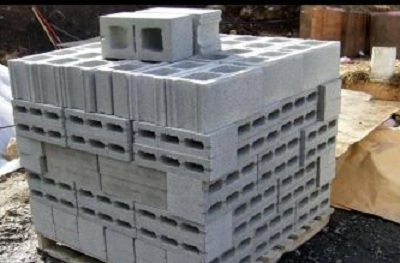 Hollow Cement Blocks Partition
