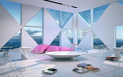 Interiors of the new Victoria Towers in Sweden