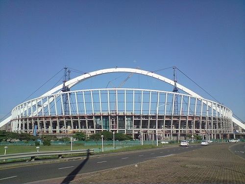 Arch Design Concept of Durban Stadium