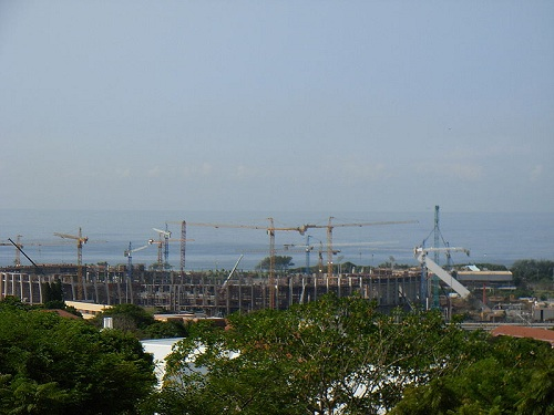 Durban Stadium - Under Construction