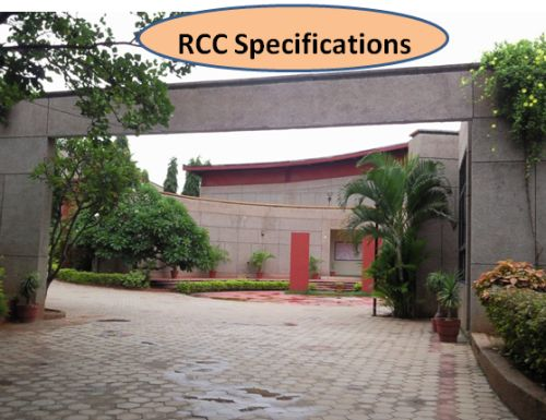 RCC specifications