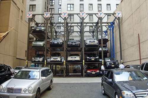 Parking Lot, New York
