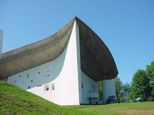 Notre Dame Du Haut, Ronchamp, France   RCC Structures
