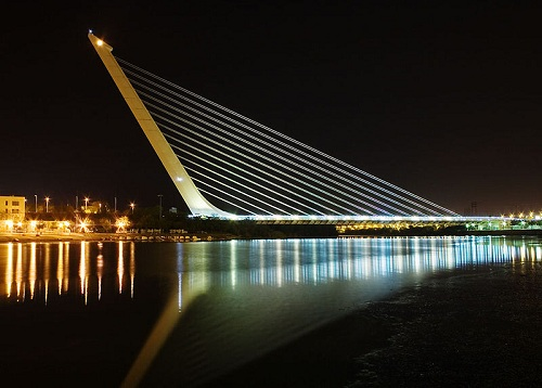 Alamillo Bridge, Seville, Spain   Suspended Structures